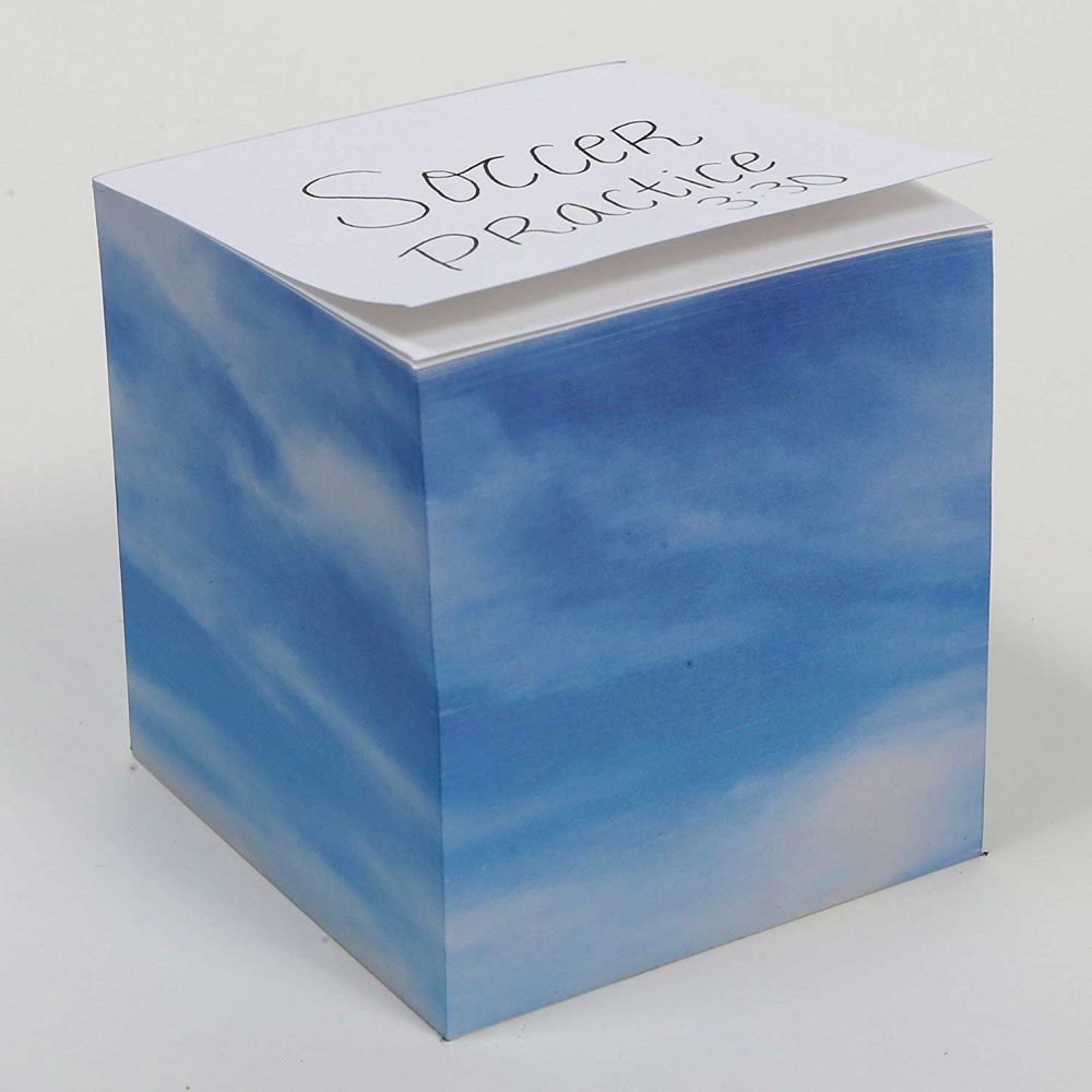"NOT STICKY 3.5"" Beautiful Day Note Cube alternate"
